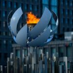 tokió 2020 városkép az olimpiai láng